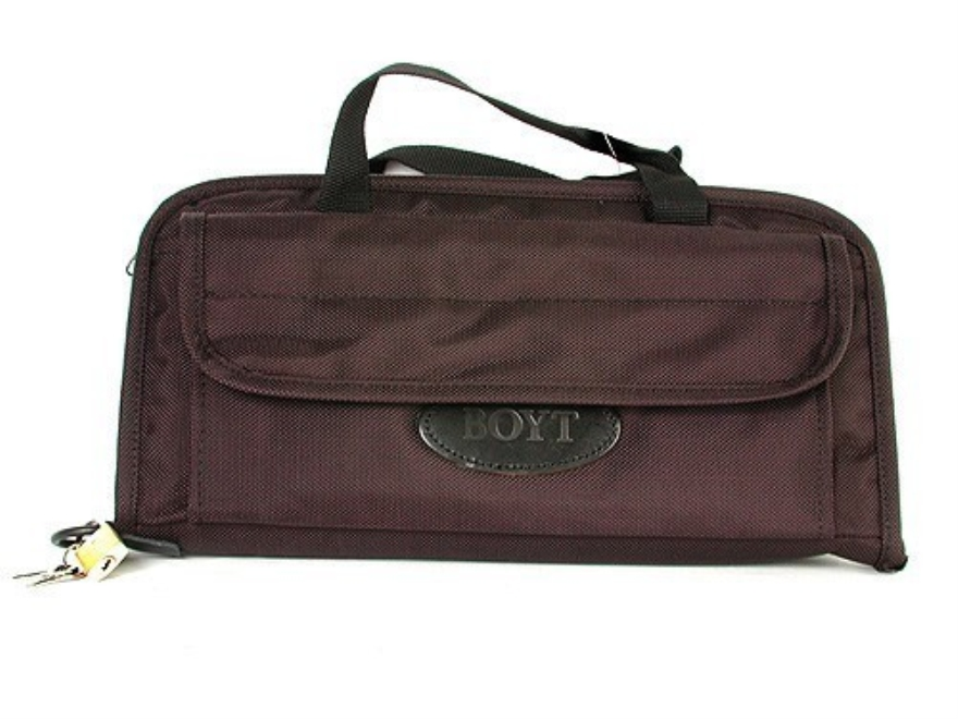"Boyt Double Pistol Case 13"" Black"