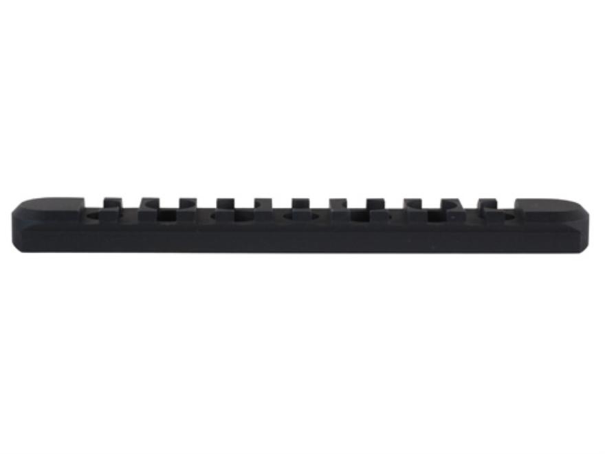 Midwest Industries Customizable Rail Section SS-Series Free Float Tube Handguard AR-15 Aluminum Black
