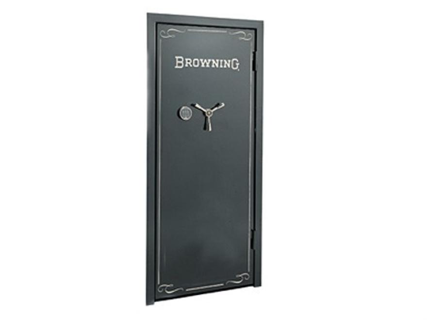 Browning Universal Vault Door Gloss Black with Browning Logo