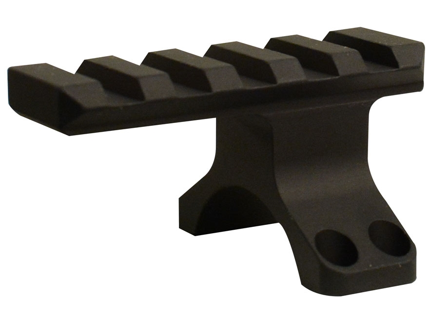 Badger Ordnance 30mm Maximized 4-Hole Picatinny-Style Ring Top with Picatinny-Style Accessory Rail Matte