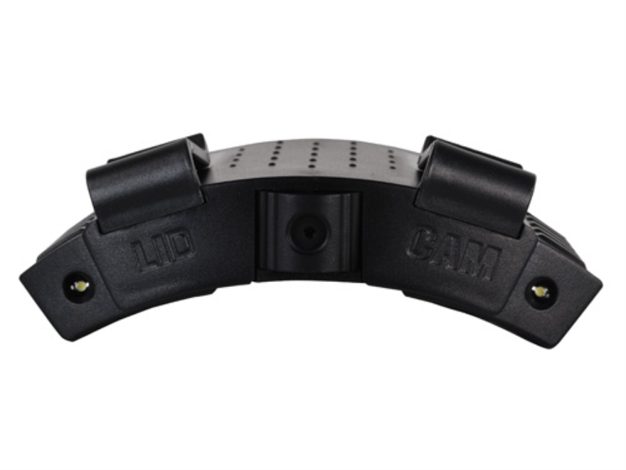 Rhino Outdoors Lid Cam Cap Mounted Adjustable Video Camera Polymer Black