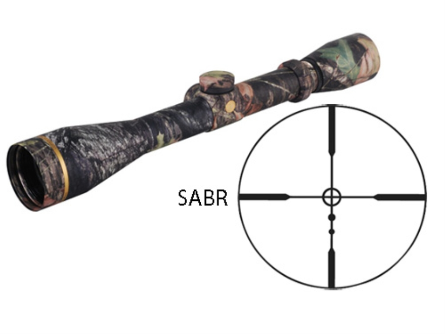 Leupold UltimateSlam Muzzleloader Scope 3-9x 40mm SABR Reticle Mossy Oak Break-Up