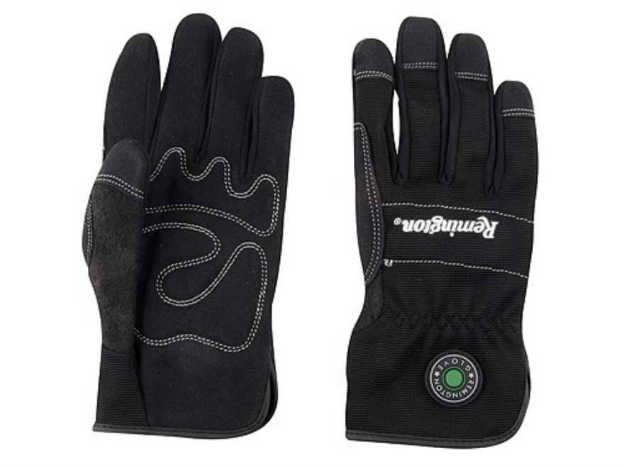 Remington RG-10 Slip-Fit Gloves Synthetic Black Medium