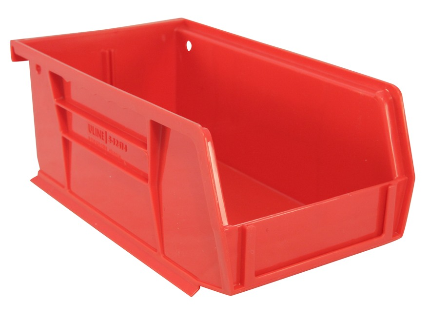 Inline Fabrication Increased Capacity Bullet Bin Red