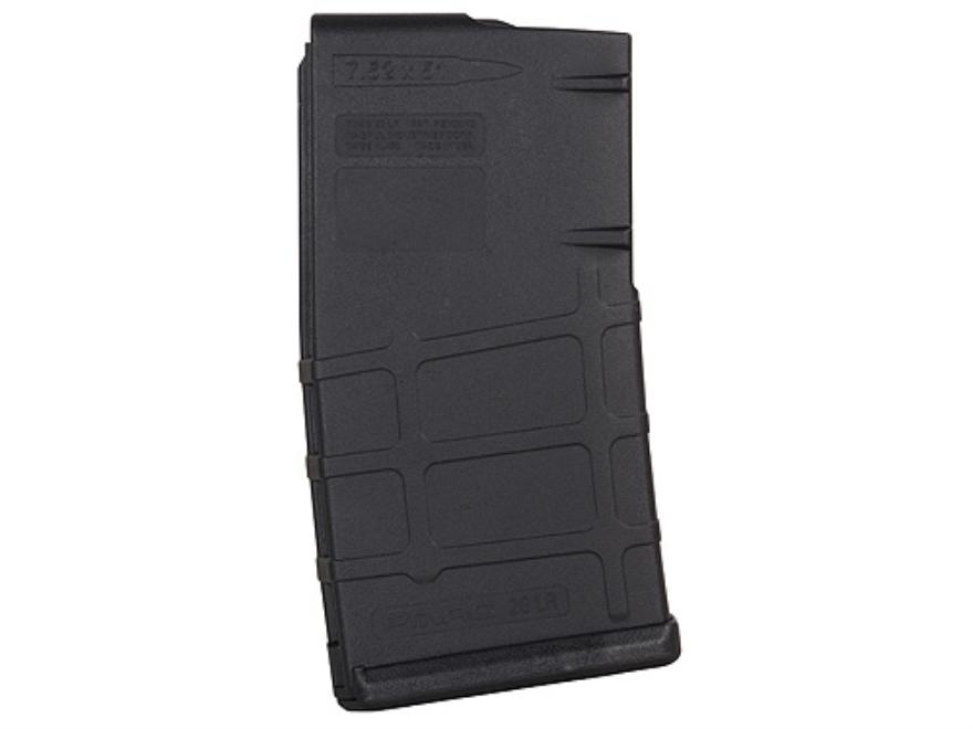 Magpul PMAG 20LR Magazine LR-308, KAC SASS/MK11 308 Winchester 20-Round Polymer Black