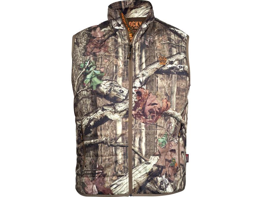 Rocky Men's L2 PrimaLoft Insulated Vest Polyester Mossy Oak Break-Up Infinity Camo Large 42-44
