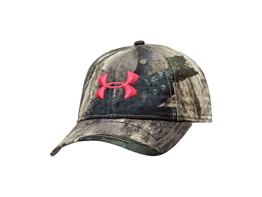 Under Armour Women's Camo Cap Polyester Mossy Oak Treestand Camo
