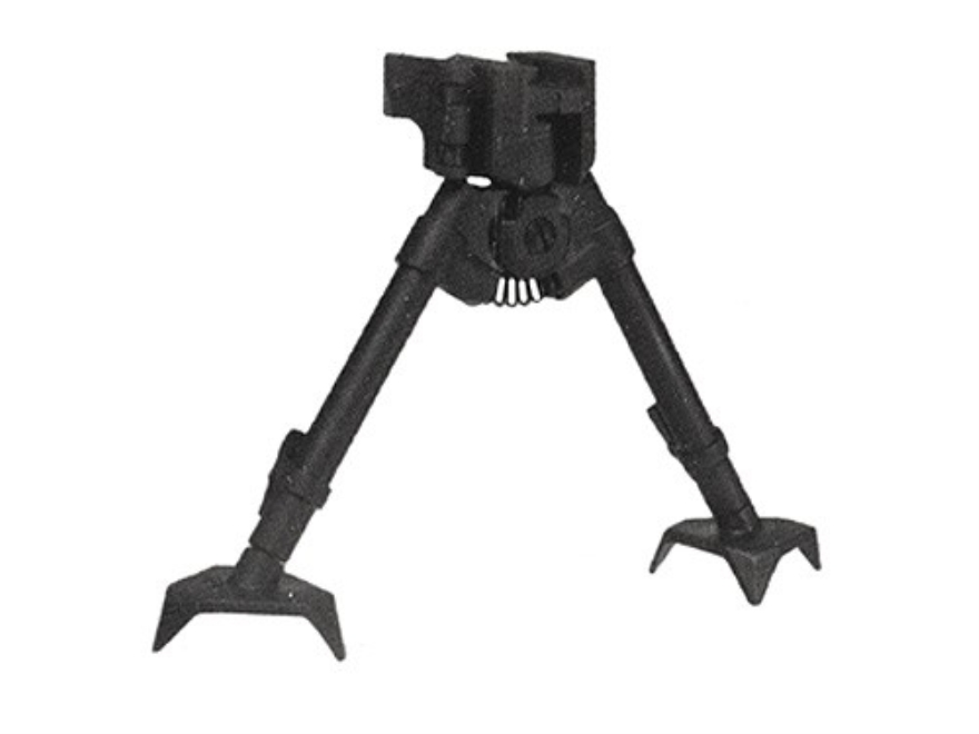 "Versa-Pod Prone Bipod Picatinny Rail Mount 7"" to 9"" Raptor Feet Black"