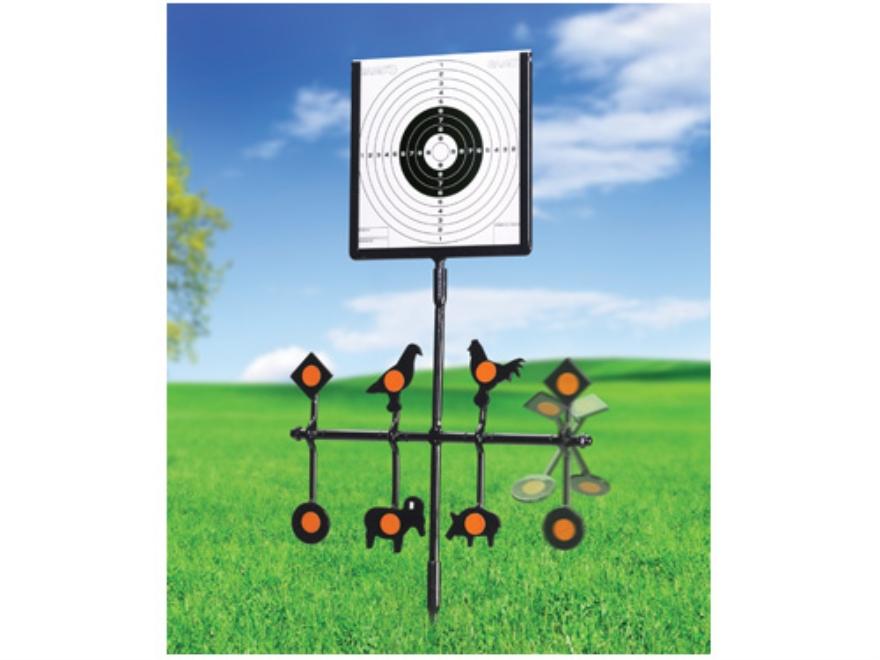 Gamo Spinner Deluxe Swinging Airgun Target Stand Steel Black
