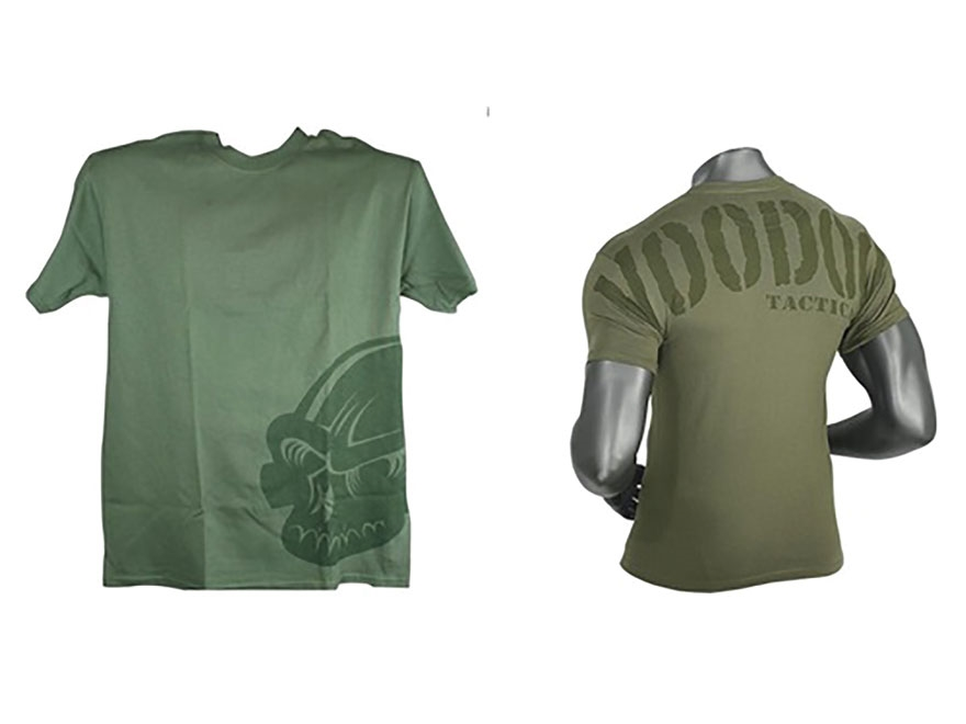 Voodoo Tactical Subdued Skull T-Shirt Short Sleeve Cotton