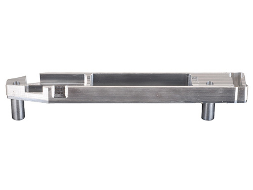 Whidden Gunworks Remington 700 Stock Bedding Block Long Action with Magazine Cut-out Aluminum
