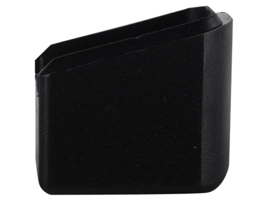 ProMag Extended Magazine Base Pad +4 XD 9mm, 357 Sig, 40 S&W Polymer Black