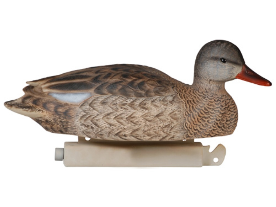 Tanglefree Pro Series Weighted Keel Gadwall Duck Decoys Pack of 12