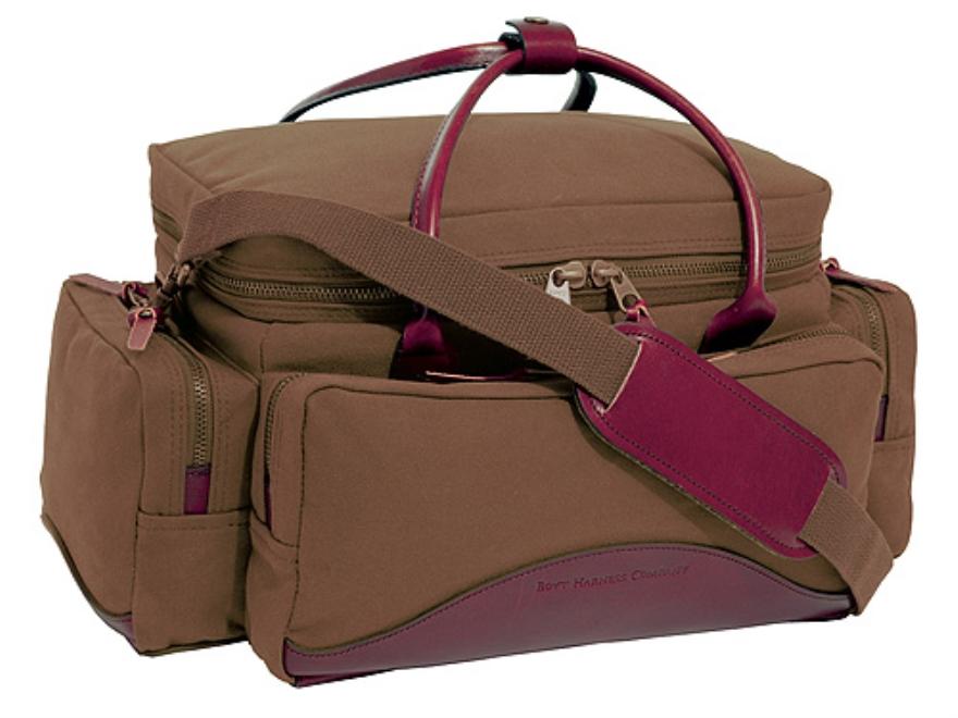 Boyt Harness Estancia Sporting Clays Bag Leather/Canvas Khaki