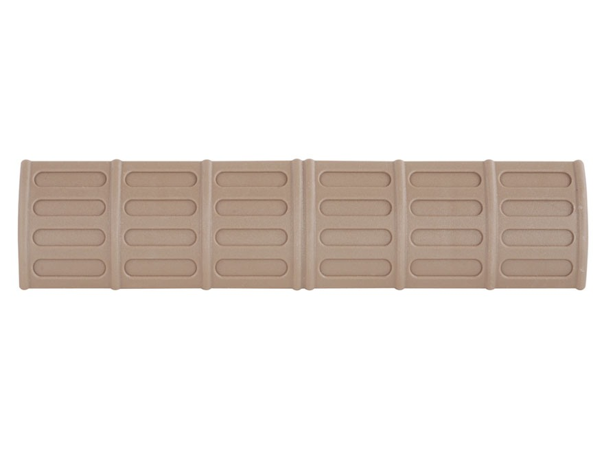 "TAPCO Picatinny-Style Rail Covers 6-1/2"" Polymer Package of 5"