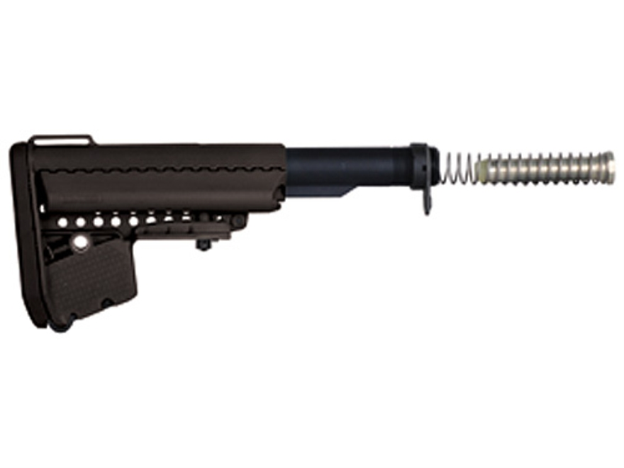 Vltor EMOD A5 Stock Assembly 7-Position Mil-Spec Diameter Collapsible AR-15 Carbine Synthetic