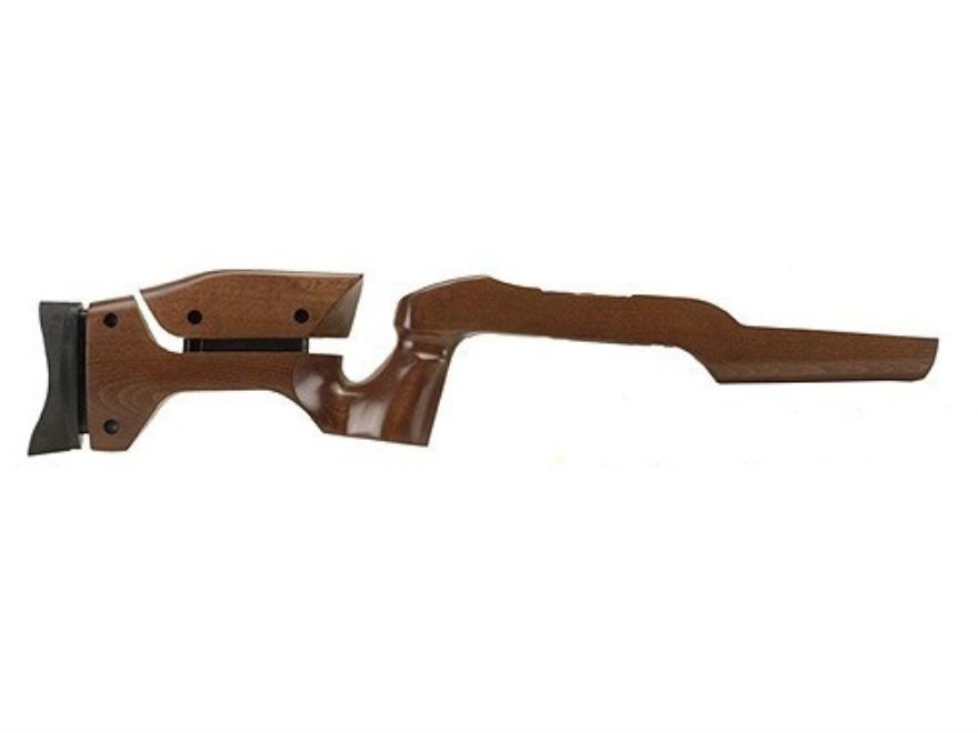 "FA Enterprises Contoured Adjustable Target Rifle Stock Ruger 10/22 .920"" Barrel Channel Birch Wood Laminate Brown Drop-In"