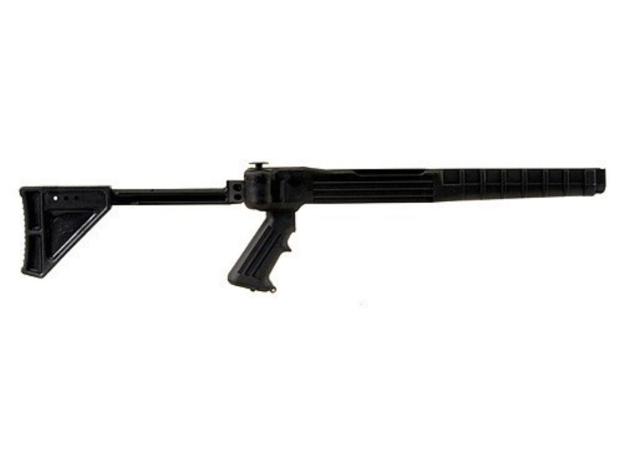 Ram-Line Pistol Grip Folding Rifle Stock Ruger 10/22 Standard Barrel Channel Synthetic ...