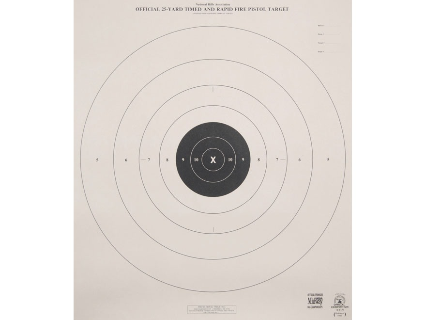 Influential image intended for nra b-8 target printable