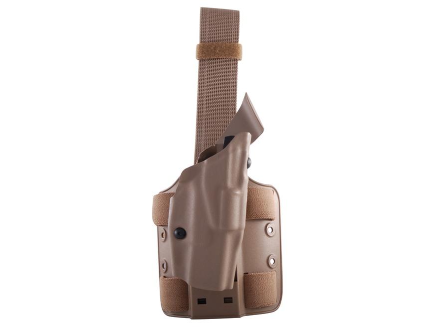 Safariland 6354 ALS Tactical Drop Leg Holster Right Hand Glock 19, 23, 32 Polymer Flat Dark Earth