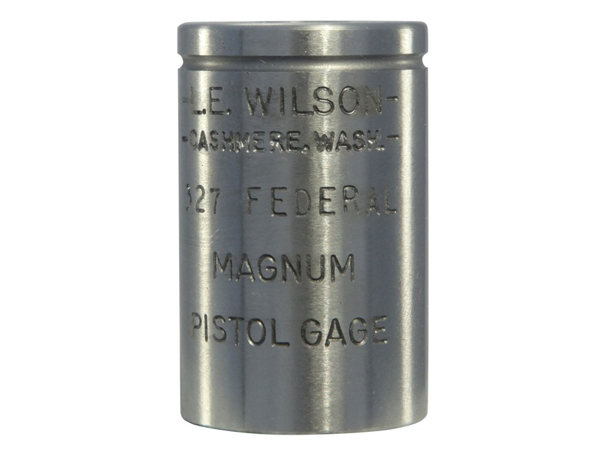 L.E. Wilson Max Cartridge Gage 327 Federal Magnum