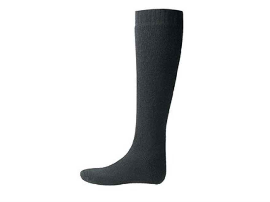 Wool Power Men's 600 Gram Over the Calf Socks Wool Black XL (11-13)