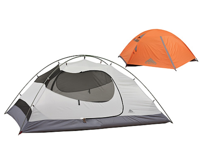 """Kelty Gunnison 4.1 4 Man Dome Tent 100"""" x 82"""" x 52"""" Polyester Ice and Moonlight Blue"""