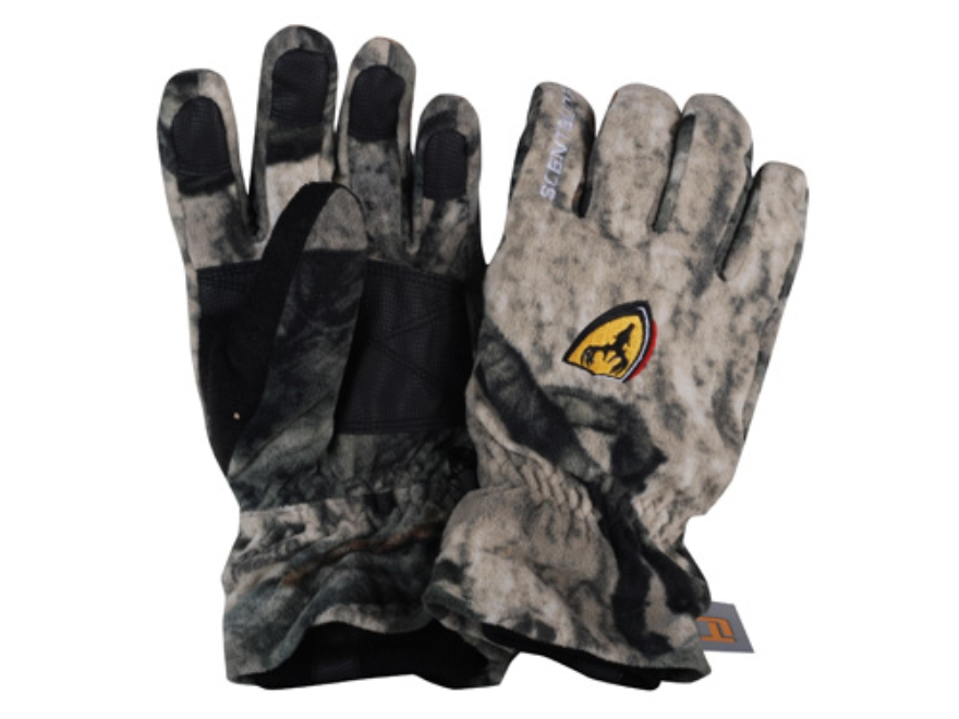 ScentBlocker Dream Season Fleece Insulated Gloves Polyester Mossy Oak Break-Up Infinity Camo Medium/Large