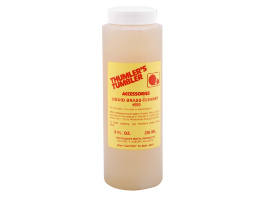 Thumler's Tumbler Liquid Brass Pre-Cleaner 8 oz Liquid