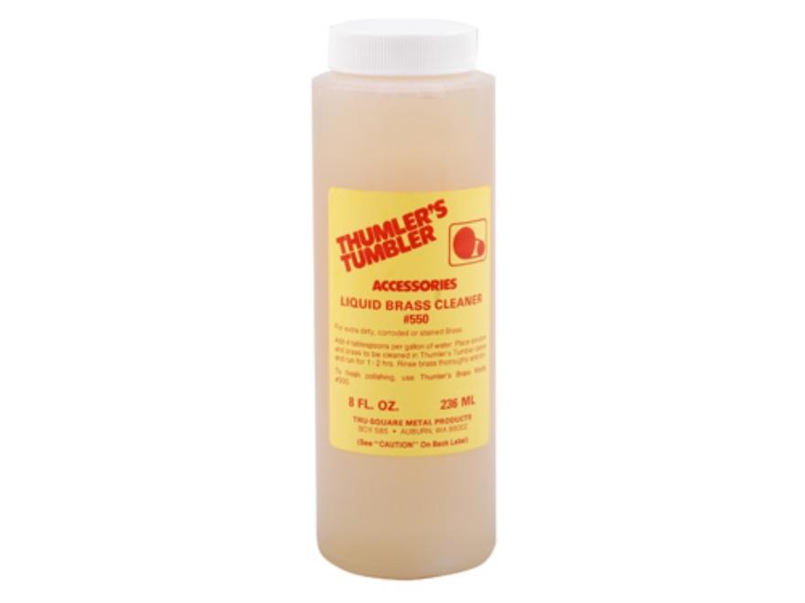 Thumler's Tumbler Liquid Brass Pre-Cleaner 8 oz Liquid