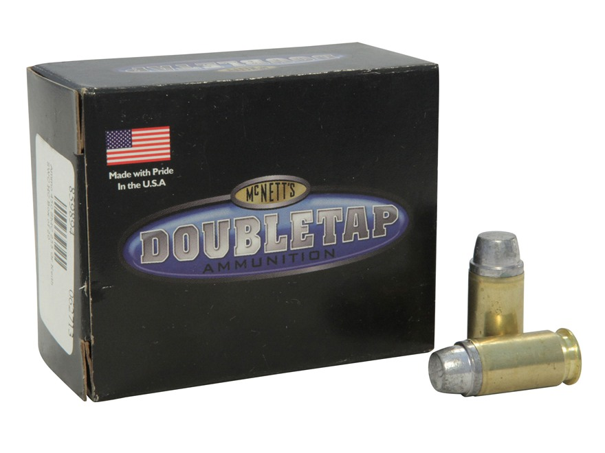 Doubletap Ammunition 450 Short Magnum Cartridge 255 Grain Keith Semi-Wadcutter Hard Cast Box of 20