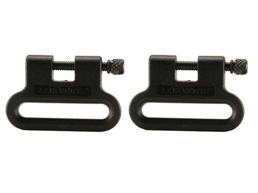 "The Outdoor Connection Brute Sling Swivels 1"" Polymer Black (1 Pair)"