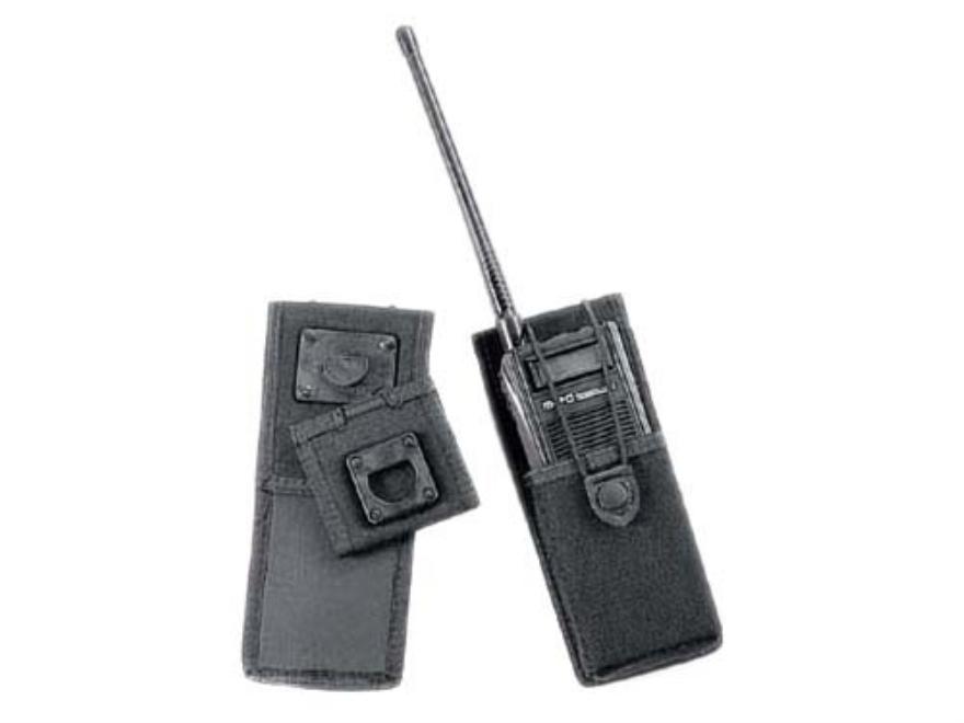 "Uncle Mike's Laminated Radio Case 1-3/4"" Deep x 2-3/4"" Wide x 3-3/8"" High Swivel Belt Loop Nylon Black"
