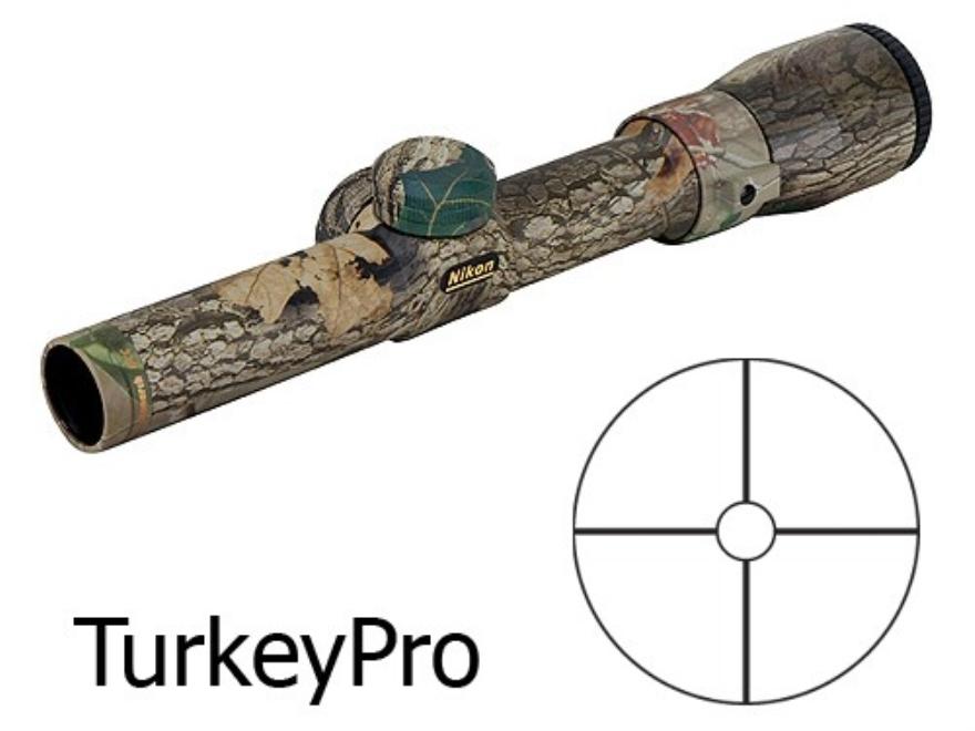 Nikon Monarch Shotgun Scope 1 5 4 5x 20mm Turkeypro