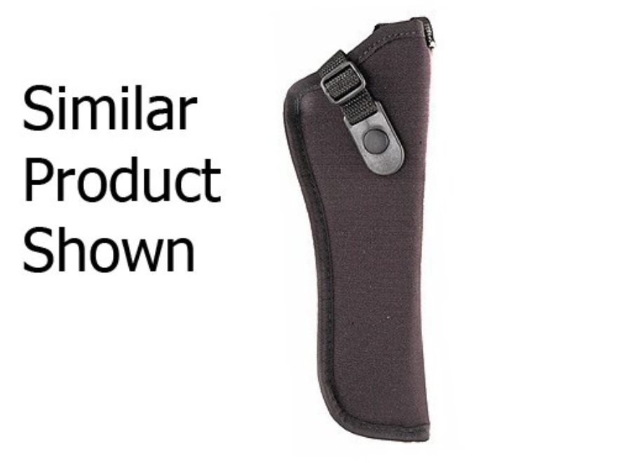 "GunMate Hip Holster Right Hand Medium Frame Semi-Automatic 4"" Barrel Tri-Laminate Nylon Black"