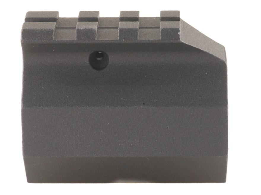 """DPMS Gas Block Single Picatinny Rail AR-15, LR-308 Bull Barrel .936"""" Inside Diameter Aluminum Matte"""