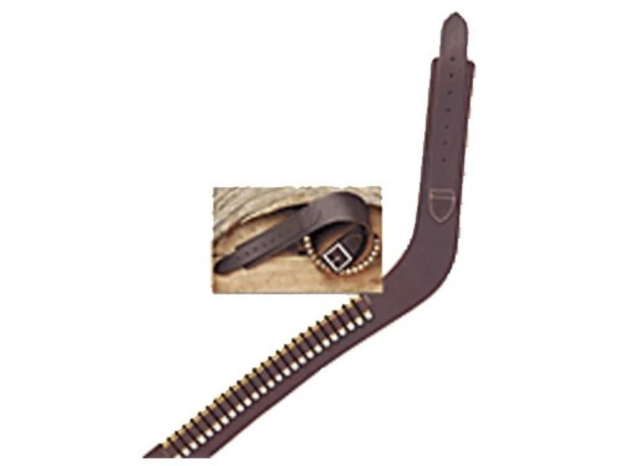 Hunter 162 Western Drop Belt 22 Caliber Rimfire Leather Antique Brown