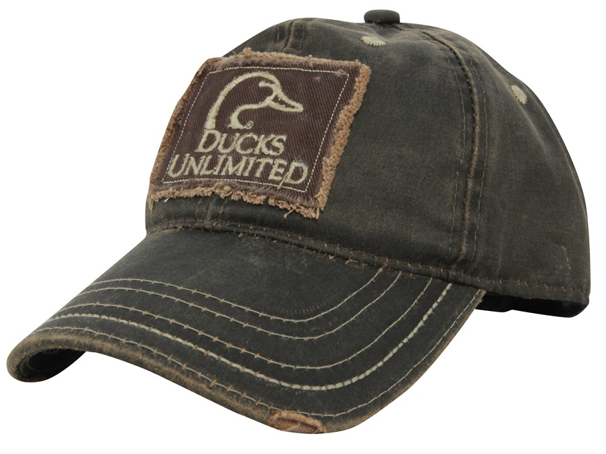 Ducks Unlimited Patch Logo Cap Cotton Brown