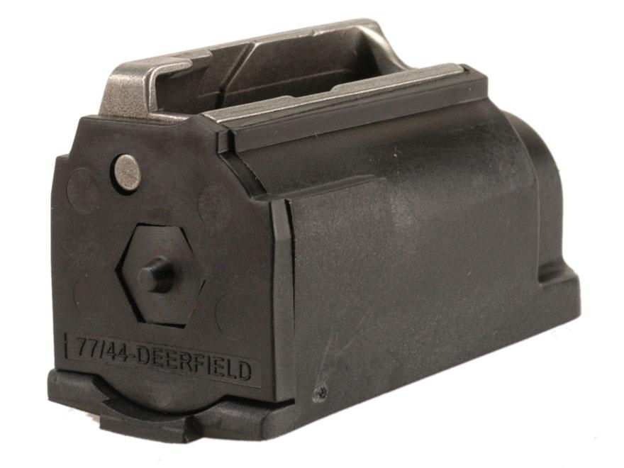 Ruger Magazine Ruger 99/44 Deerfield 44 Remington Magnum 4-Round Polymer Black