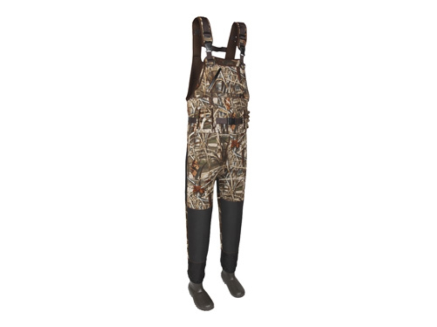 Allen Guide LX 5mm 1600 Gram Insulated Neoprene Chest Waders Realtree Max-4 Camo Mens 9