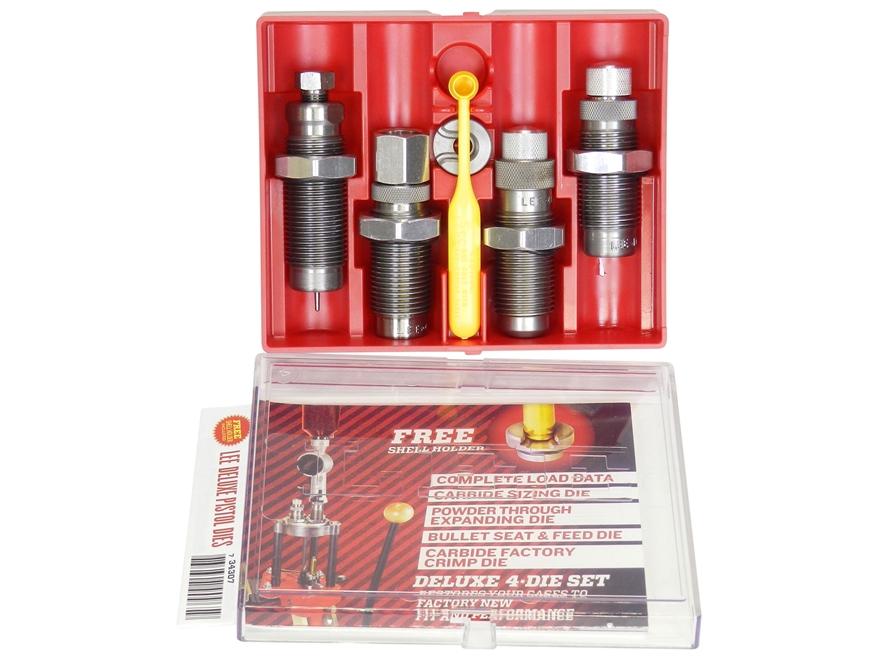 Lee Deluxe Carbide 4-Die Set 380 ACP