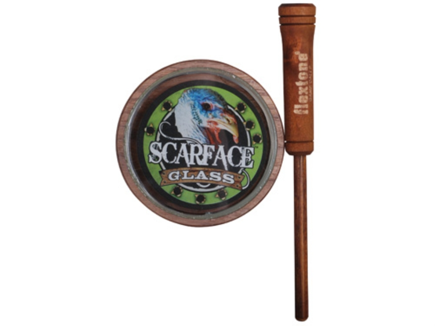 "Flextone Michael Waddell's ""The Untouchable Series"" Scarface Glass Turkey Call"