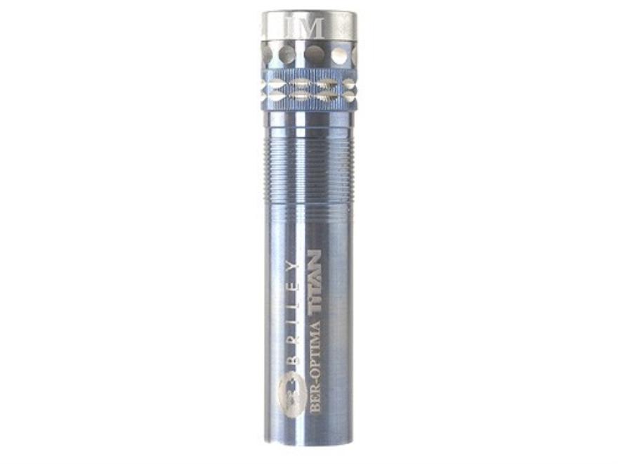 Briley Spectrum Mach 1 Extended Choke Tube Beretta Optima 12 Gauge Titanium
