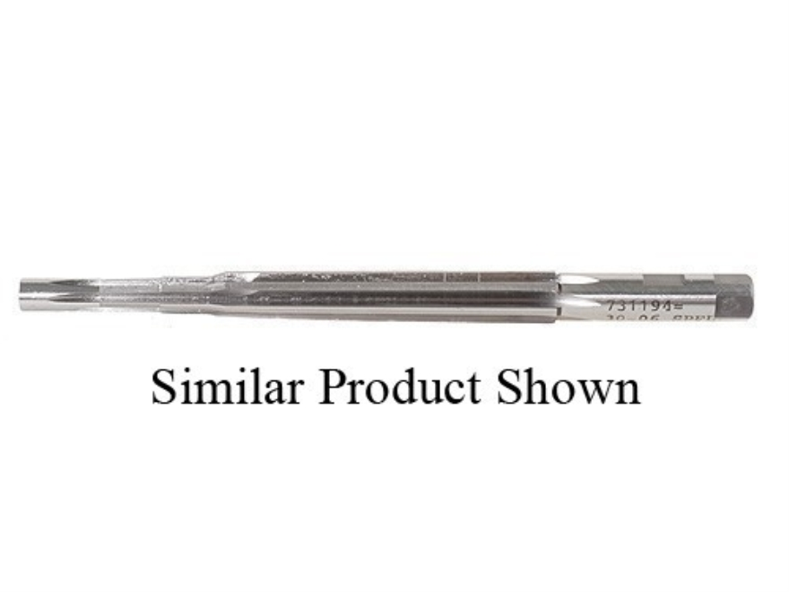 PTG Solid Pilot Chamber Finish Reamer 6.8mm Remington SPC Ackley Improved 40-Degree Shoulder