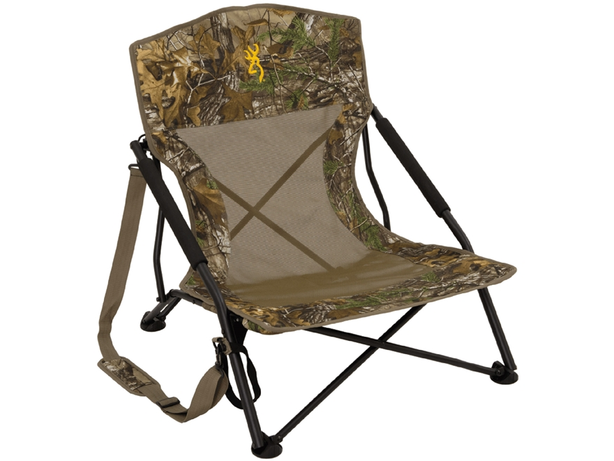 Browning Strutter Low Profile Chair Realtree Xtra Camo