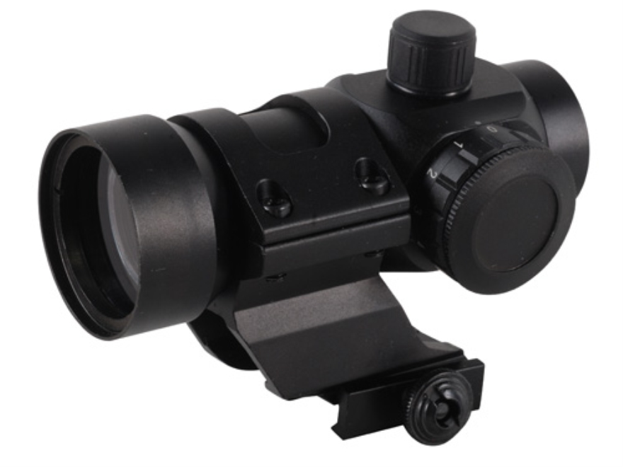 NcStar Tactical Red Dot Sight 3 MOA Red/Green Dot with Cantilever Weaver-Style Mount Matte