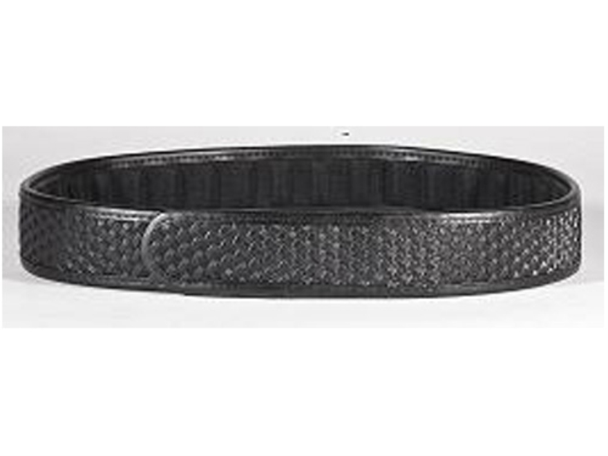 "Tuff Products ErgoPad Trouser and Holster Belt 1-3/4"" Hook-&-Loop Fastener Basketweave Black 30""-32"""