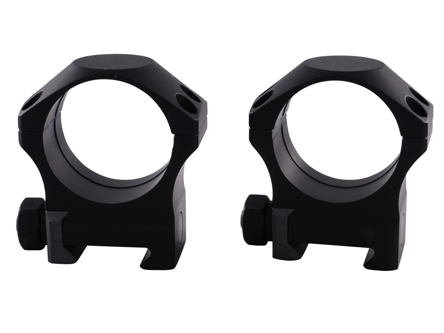 Nightforce 34mm Ultralite 6-Hole Picatinny-Style Rings Matte