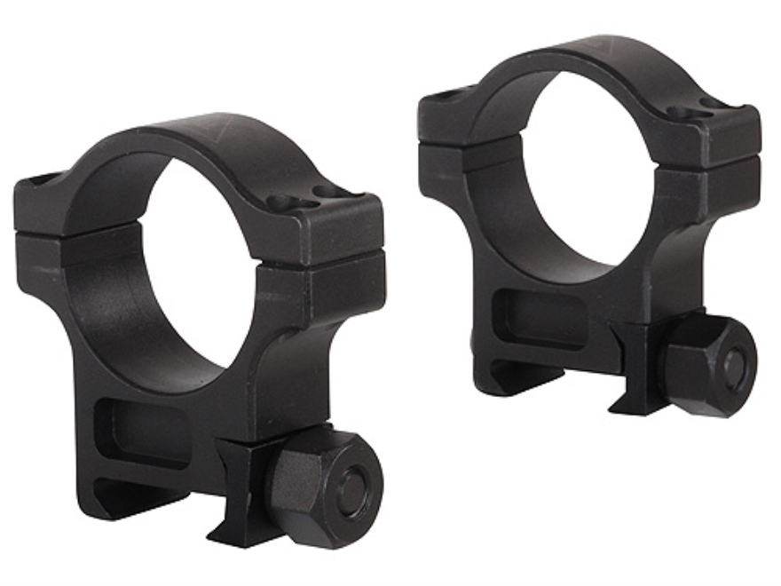 Trijicon 30mm Accupoint Steel Picatinny-Style Rings Matte High