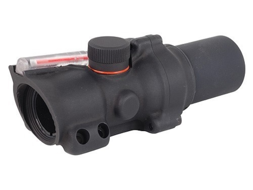 Trijicon ACOG TA26 Compact Rifle Scope 1.5x 16mm Dual-Illuminated Red Ring and Dot Reticle Matte